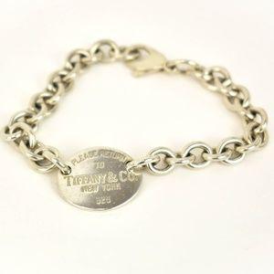 TIFFANY & CO Sterling Silver Return To Bracelet mv